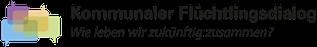 Logo Kommunaler Flüchtlingsdialog